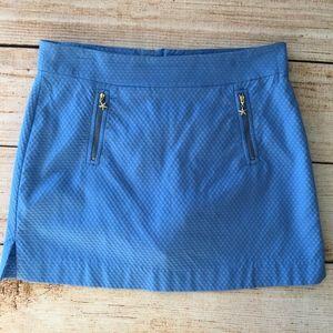 Lilly Pulitzer Skort w/zipper pocket details